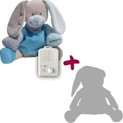 Doodoo blue bunny + Spare plush toy