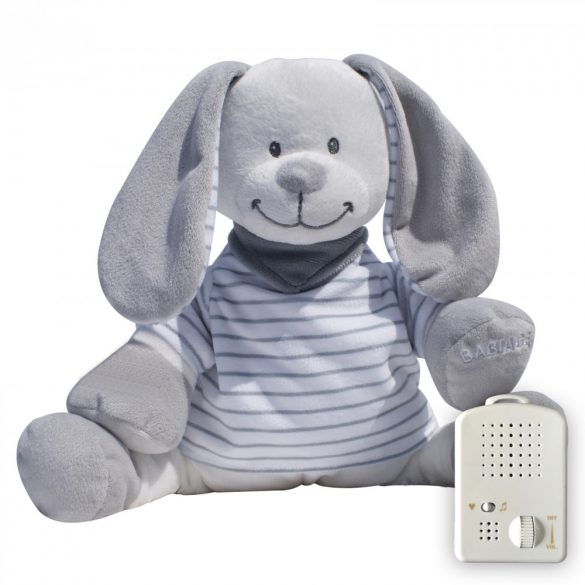 Doodoo grey-white striped bunny