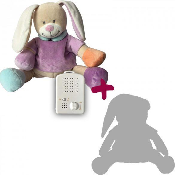 Doodoo purple bunny + Spare plush toy