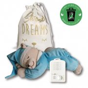 Doodoo turquoise bear / with lamp + Spare plush toy