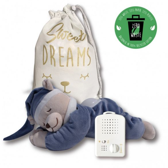 Doodoo denim blue bear / with lamp + Spare plush toy