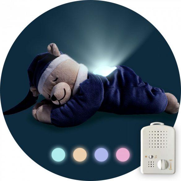 Doodoo denim blue bear / with lamp