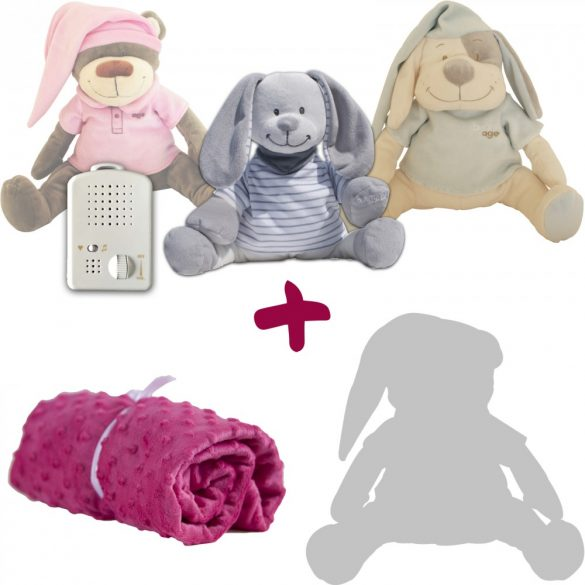 Exclusive spring package! Limited edition bunny+blanket+gift spare plush