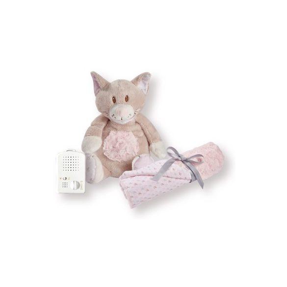 Doodoo Kitty + baby blanket in the package