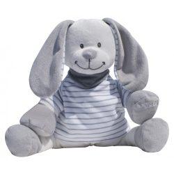 Doodoo grey-white striped bunny spare plush toy